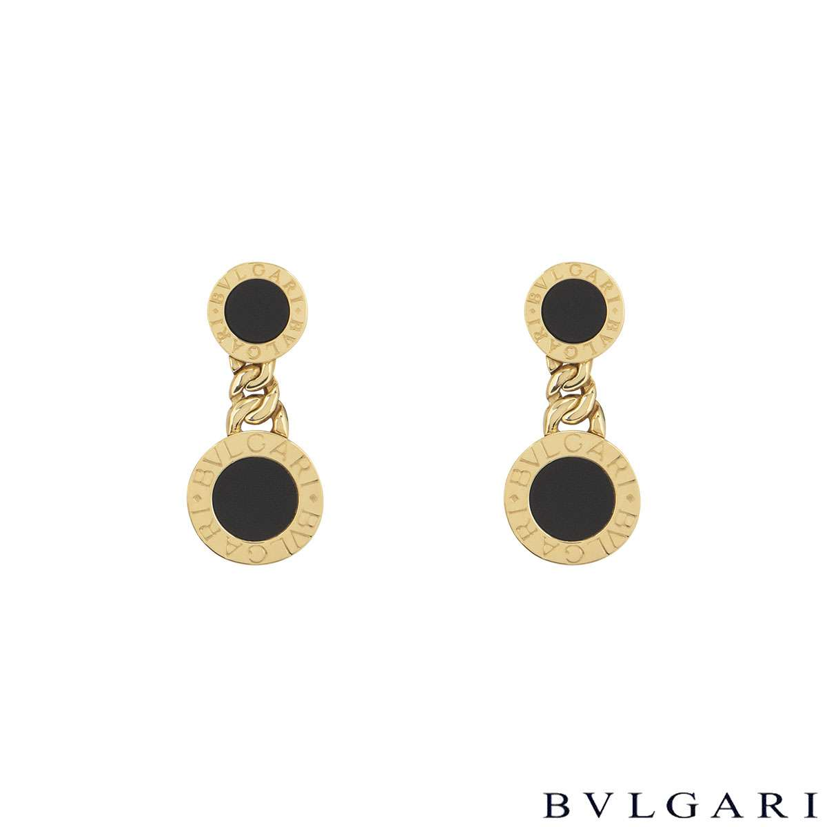 Bvlgari Bvlgari Onyx Earrings